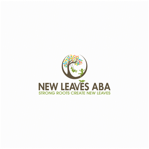 Design with the title 'New Leaves AVA'