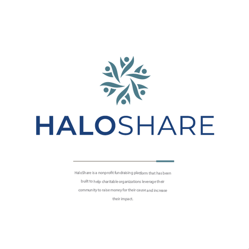 Budget logo with the title 'HALOSHARE'