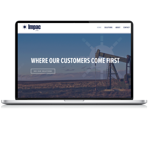 Content design with the title 'Oil & Gas Industry'