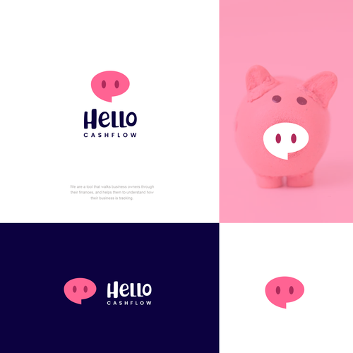 Simple design with the title 'hello cashfolow'