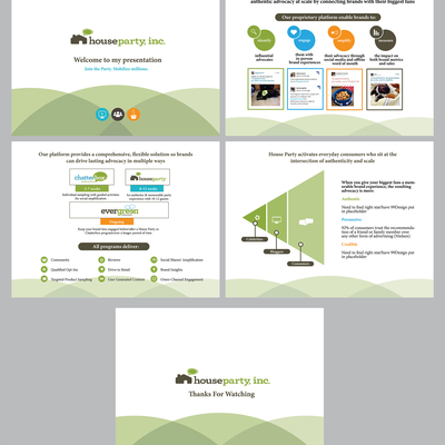 Updated look for powerpoint slides