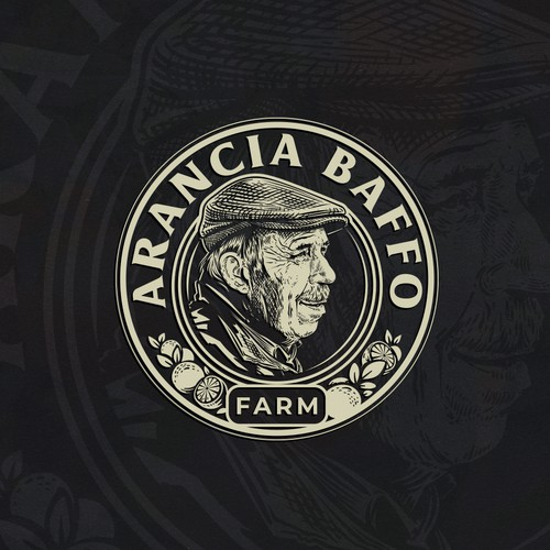 Countryside logo with the title 'Arancia'