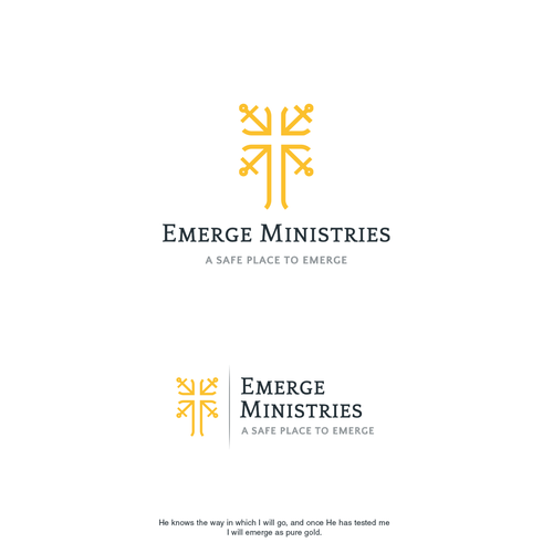 Ministry design with the title 'Emerge Ministries'