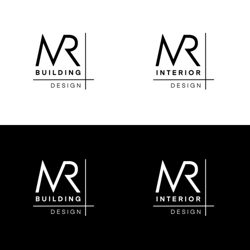 Mr. logo with the title 'MR Building Design'