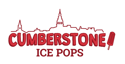 Shave ice logo with the title 'Cumberstone Ice Pops, hyper-fresh, trendy, gourmet ice pops needs your help with a new logo!'