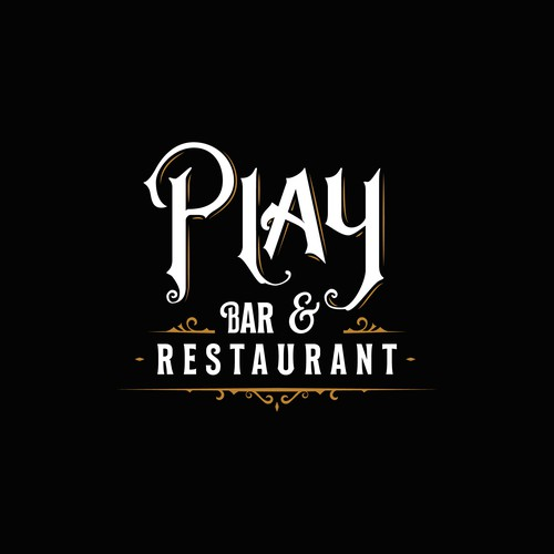 Letterhead logo with the title 'Play. Logotype'