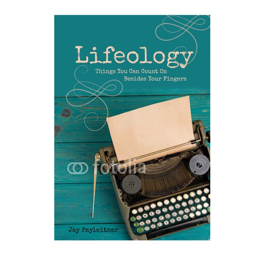 Classic book cover with the title 'Lifeology Cover'
