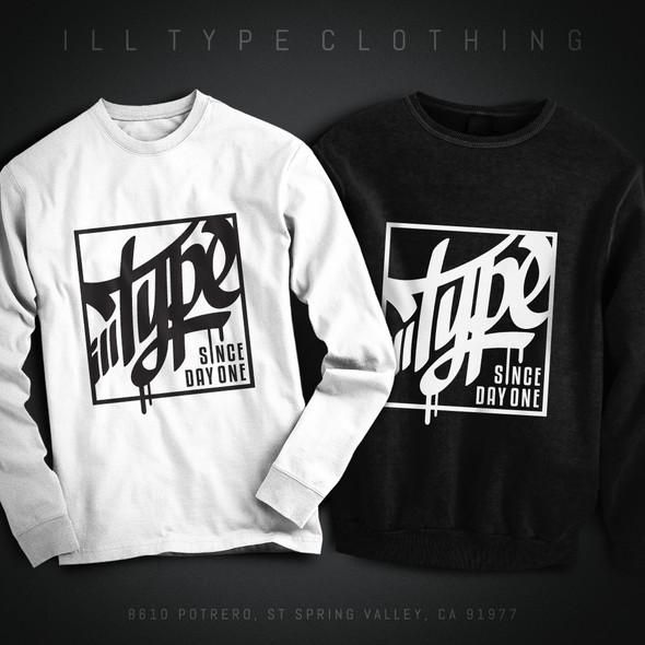 Hip hop design with the title 'Hip Hop T-Shirt Design'