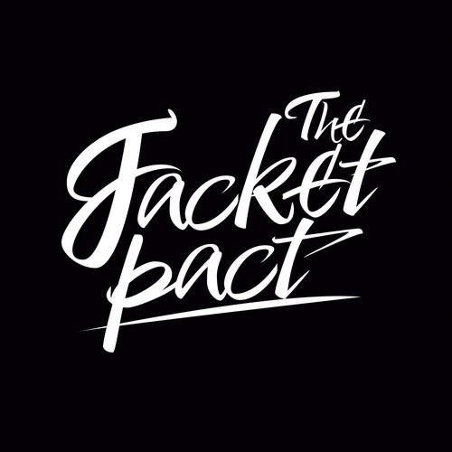 Tablet logo with the title 'Lettering Jacket Pact'
