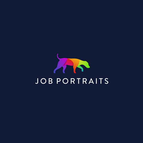 Job logo with the title 'Job Portraits'
