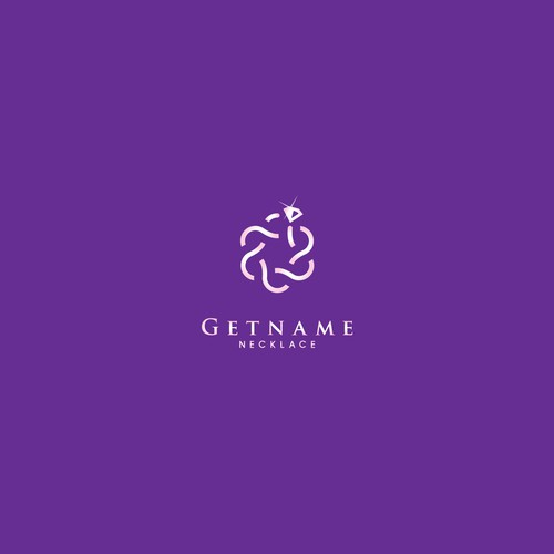 Necklace logo with the title 'Getname Necklace'