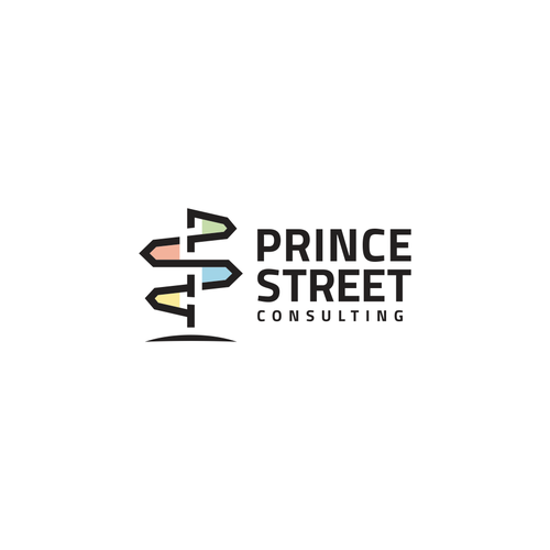 Street sign logo with the title 'PSC logo'