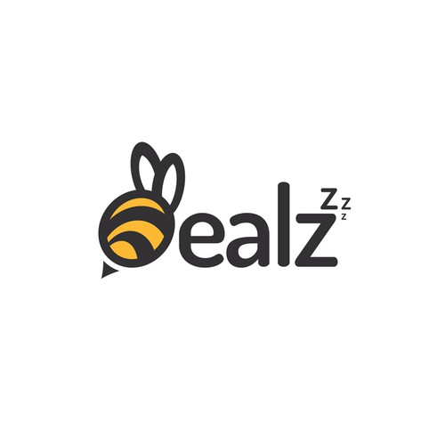 Corporate identity logo with the title 'Dealz'