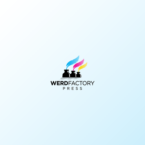 Quill design with the title 'Werd Factory'