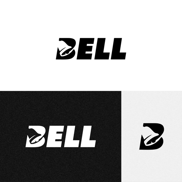 B design with the title 'Bell logo'