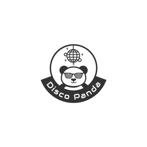 Disco design with the title 'logo for Disco Panda'