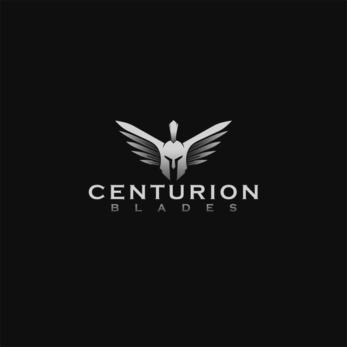 Steel logo with the title 'Centurion  Blades'