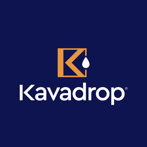 K design with the title 'Kavadrop'