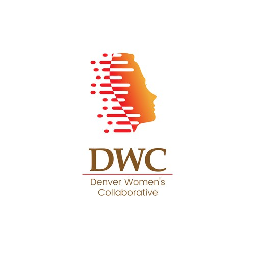 Graceful design with the title 'Denver Women's Collaborative'
