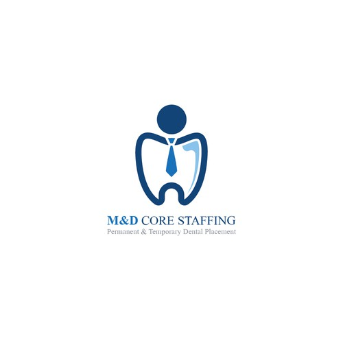 Core logo with the title 'M&D Core Staffing'