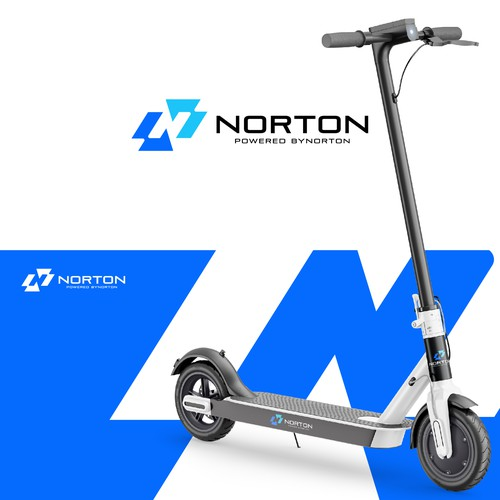 N design with the title 'Logo Concept for Norton '
