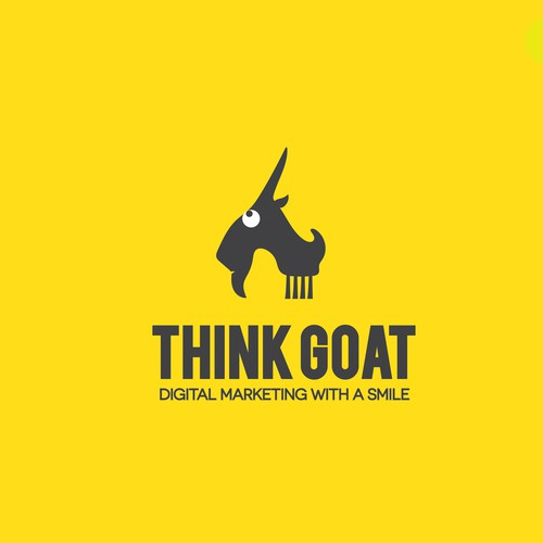 Goat logo with the title 'Goat wow'