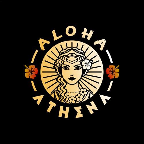Athena logo with the title 'Winner of Aloha Athena'