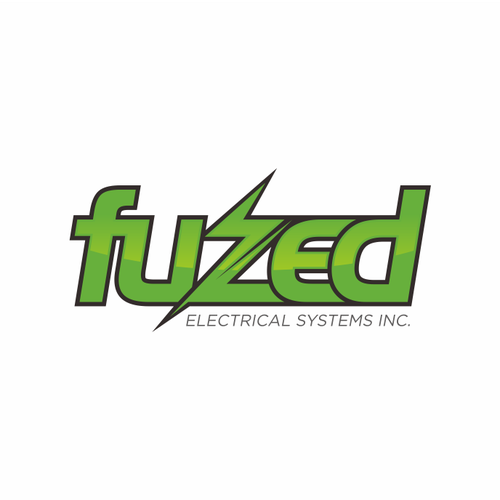 Startup logo with the title 'New logo wanted for Fuzed Electrical Systems Inc.'