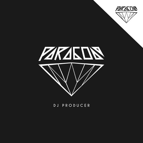 "Classic modern design with the title 'Bold logo for ""DJ Paragon""'"