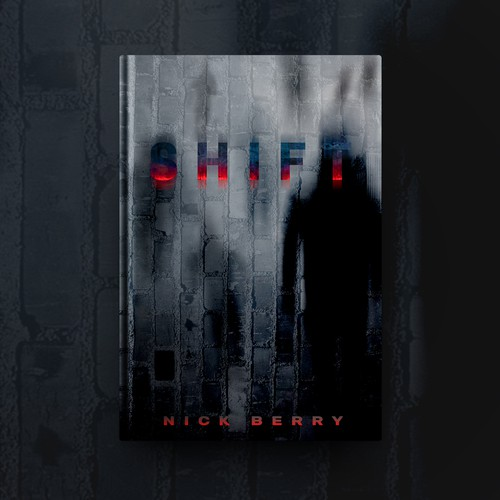 Essence design with the title 'Book cover for Dark Thriller'