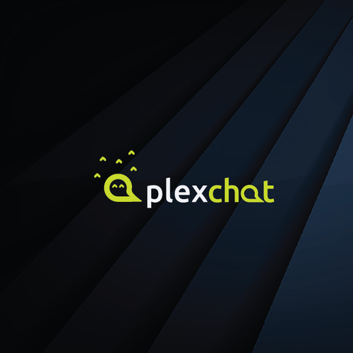 Gamer design with the title 'Gamer network chat app'