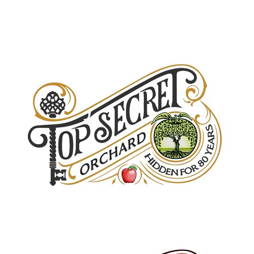 Orchard design with the title 'Top Secret Orchard'