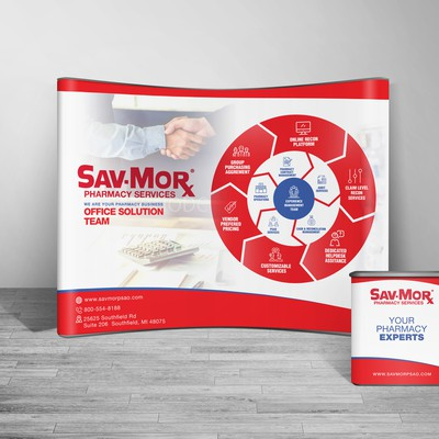 Tradeshow Signage Design for Sav-Morx