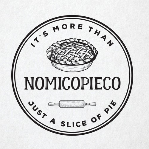 Pie logo with the title 'NoMiCoPieCo'