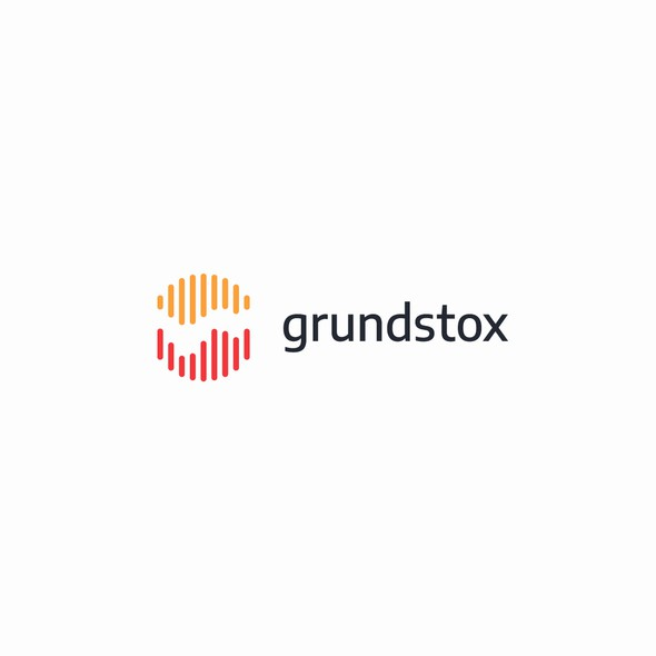 Foreign exchange logo with the title 'Logo for grundstox'