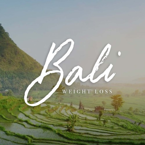 Bali logo with the title 'Handlettered logo design for Bali Weight Loss'