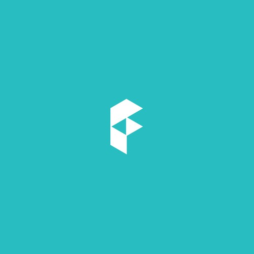 F brand with the title 'Logo Concept for Facilipaie'