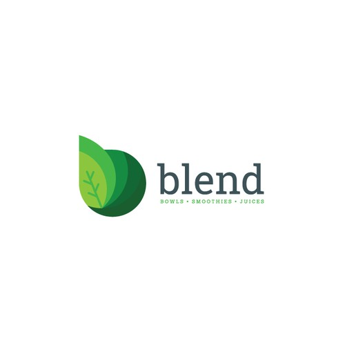 Blender logo with the title 'blend'