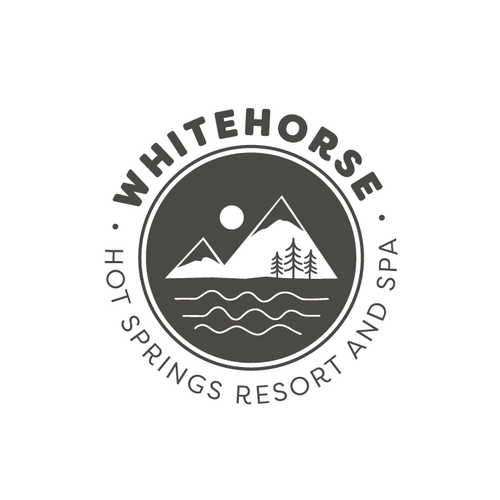 Wilderness logo with the title 'Whitehorse Hot Springs Resort and Spa'