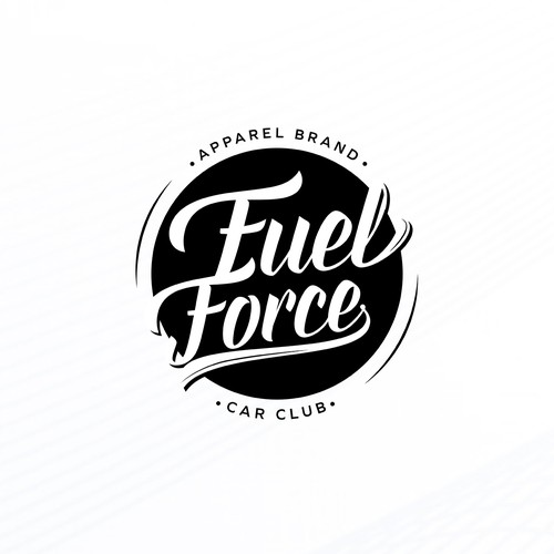 Typographic logo with the title 'Fuel Force'