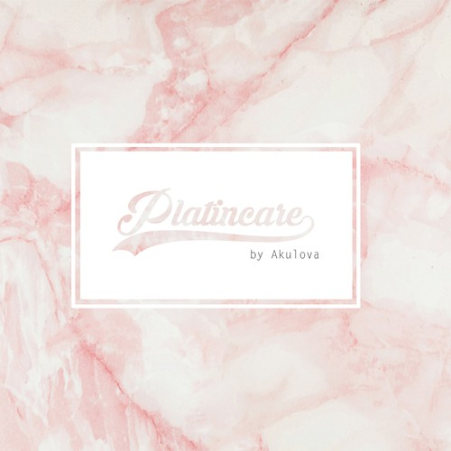Transparent logo with the title 'luxurious logo for Platincare'