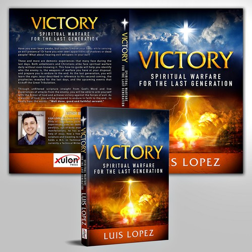 Bible book cover with the title 'VICTORY'