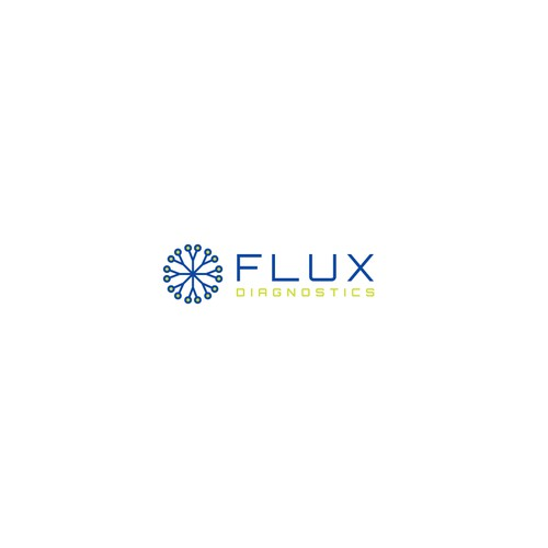 Branch logo with the title 'Logo Design for Flux Diagnostics'