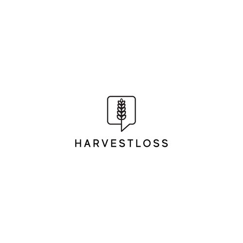 Harvest design with the title 'Harvestloos Community'