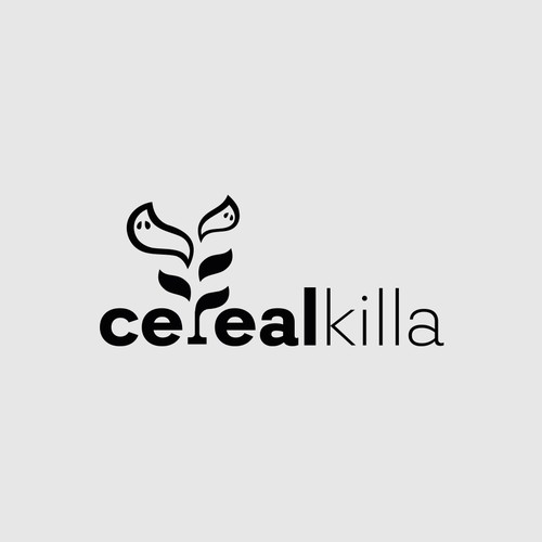 Cereal design with the title 'Cereal killer!'