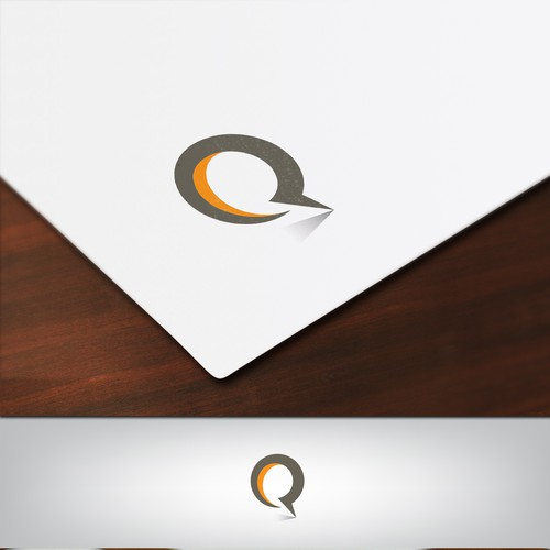Q logo with the title 'Q Logo'
