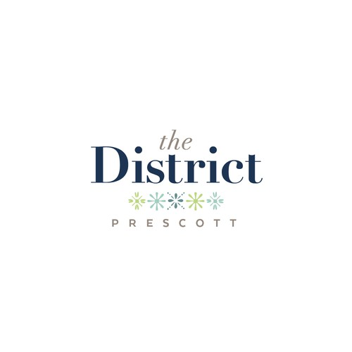 Serif logo with the title 'Logo for development on historic property.'
