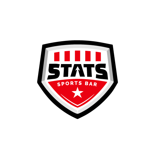 New logo with the title 'Stats Sports Bar'