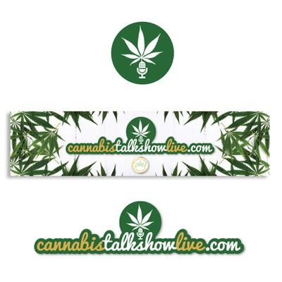 Cannabis Talk Show Poster & Branding