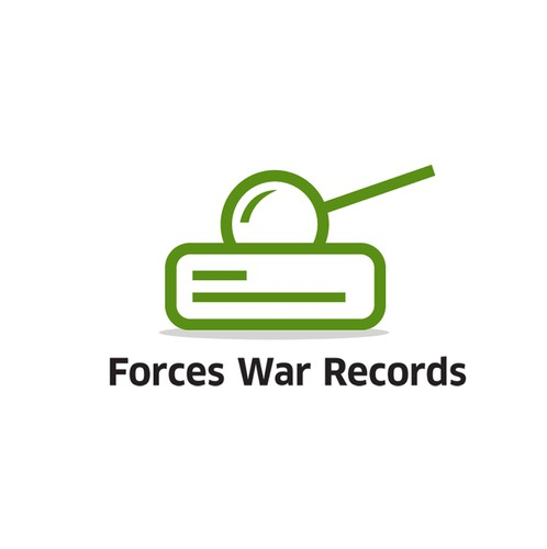 Tank design with the title 'Forces War Records'